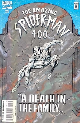 Amazing Spider-Man #400, Death of Aunt May. Click for values