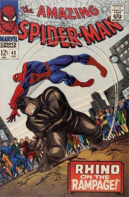 Click here to find out the current market values of Amazing Spider-Man #43