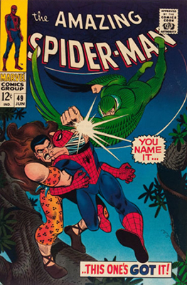 Click here to find out the current market values of Amazing Spider-Man #49