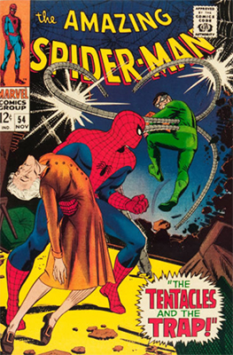 Click here to find out the current market values of Amazing Spider-Man #54