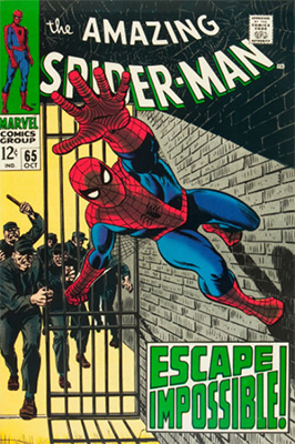 Click here to check the value of Amazing Spider-Man #65