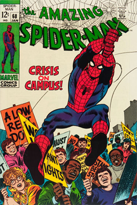 Click here to check the value of Amazing Spider-Man #68