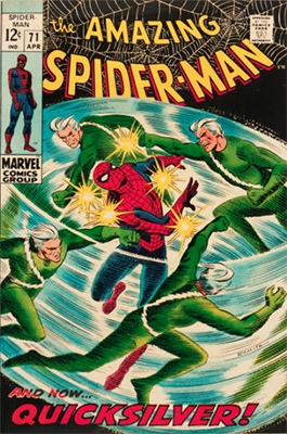 Click here to check the value of Amazing Spider-Man #71
