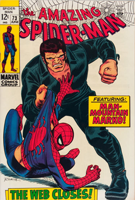 Click here to check the value of Amazing Spider-Man #73