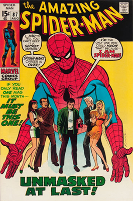 Click here to find out the values of Amazing Spider-Man issue #87