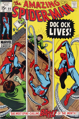 Click here to find out the values of Amazing Spider-Man issue #89