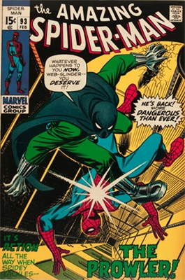 Click here to find out the values of Amazing Spider-Man issue #93