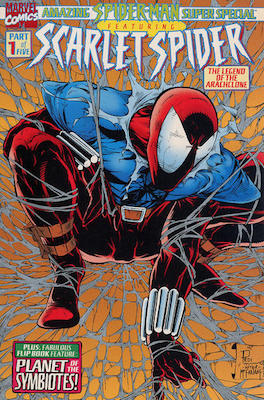 Amazing Spider-Man Super-Special. Carnage appearance. Click for values