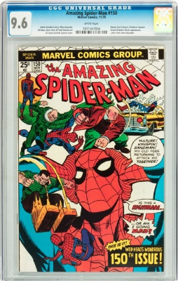 No Amazing Spiderman #150 cgc graded 9.6 Signature series have been sold to date!