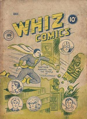 Anglo-American Whiz Comics v1 #1