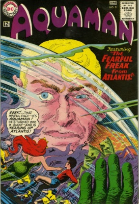 Origin and First Appearance, Fisherman, Aquaman #21, DC Comics, 1965. Click for value