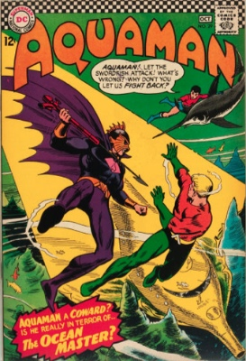 Aquaman #29: First Appearance of the Ocean Master. Click for values