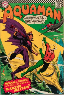 Origin and First Appearance, Ocean Master, Aquaman #29, DC Comics, 1966. Click for value