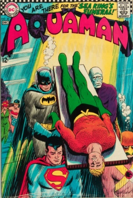 Aquaman #30: The Death of Aquaman. Click for value