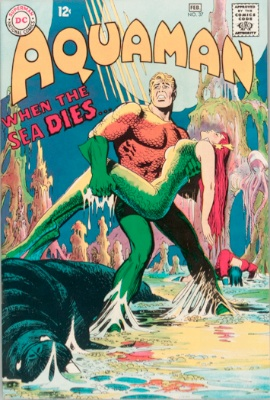 Origin and First Appearance, Scavenger, Aquaman #37, DC Comics, 1968. Click for value