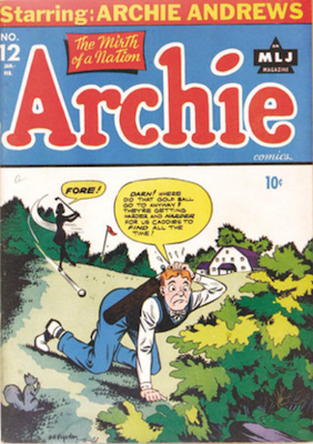 Archie Comics #12. Click for current values.