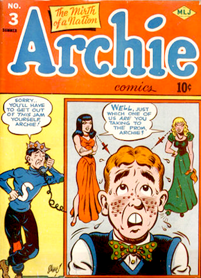 Archie Comics #3. Click for current values.