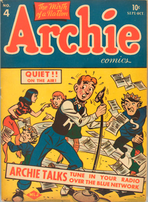 Archie Comics #4. Click for current values.