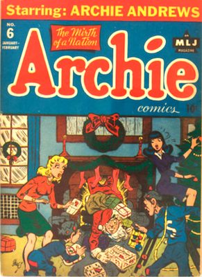Archie Comics #6. Click for current values.