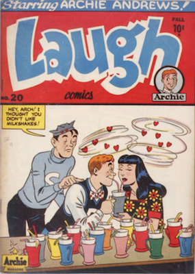 Laugh Comics #20: First in Spin-Off series. click for values