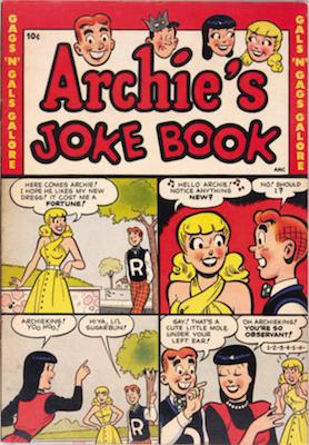 Archie's Joke Book Magazine #1 (1953). Click for values