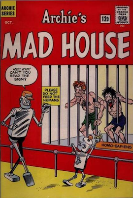 Hot Comics #74: Archie's Madhouse #22, 1st Sabrina the Teenage Witch. Click to find your copy