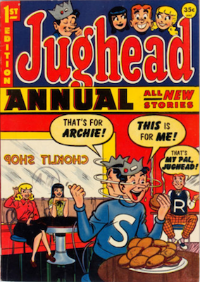 Archie's Pal Jughead Annual #1. Click for current values.