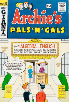 Archie's Pals and Gals #23: First Appearance of Josie. Click for values