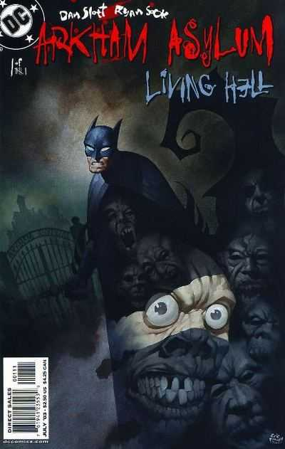 Origin and First Appearance, Great White, Arkham Asylum: Living Hell #1, DC Comics, 2003. Click for value