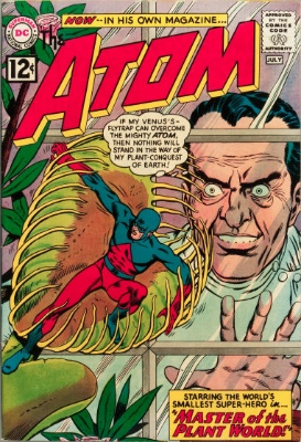 Origin and First Appearance, Floronic Man, Atom #1, DC Comics, 1962. Click for value