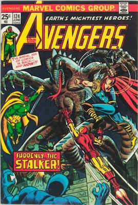Avengers #124: 1st Star Stalker. Click for value