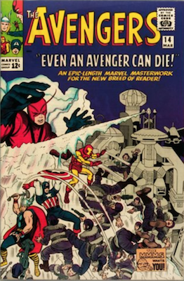 Avengers #14: Early Silver Age issue. Click for value