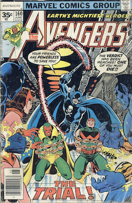 Avengers #160 35c Price Variant