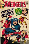 Avengers #4 Golden Record Reprint  Record Sale: $1,500  Minimum Value: $20