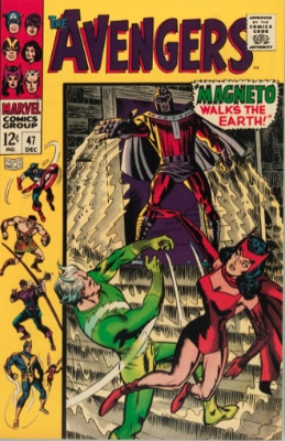 Origin and First Appearance, Black Knight, The Avengers #47, Marvel Comics, 1967. Click for value