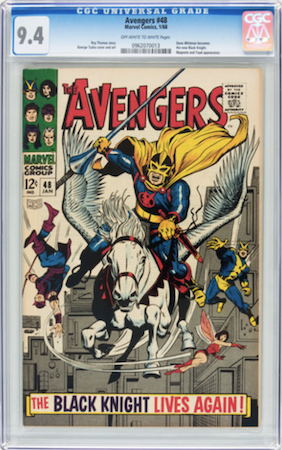 Avengers 48 CGC 9.4. Click to buy a copy