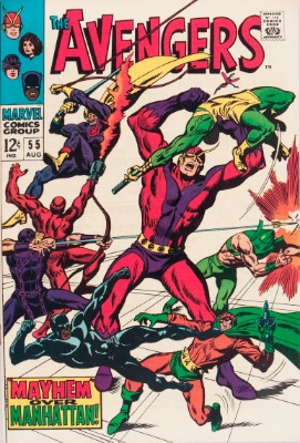 Avengers #55 (first full Ultron) has jumped in price. Click for value