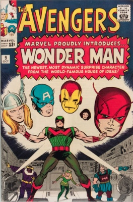 Avengers #9: Origin and First Appearance of Wonder Man. Click for value