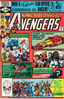 Avengers Annual #10: Origin and First Appearance of Rogue. Click for value