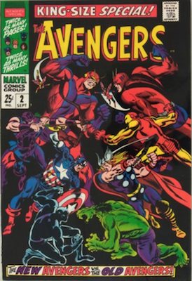 Avengers Annual #2: First Appearance of Scarlet Centurion. Click for value
