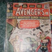 Avengers Comic #1 Value?