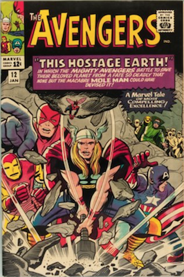Avengers #12: early Silver Age comic. Click for values