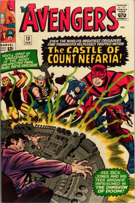 Avengers #13: First Appearance of Count Nefaria. Click for value