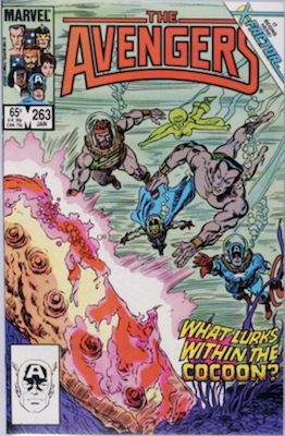 Avengers Comics #263: 1st X-Factor. Click for value
