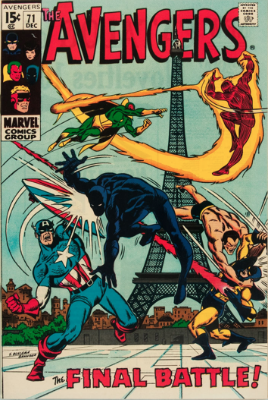 Origin and First Appearance, The Invaders, Avengers #71, December, 1969. Click for value