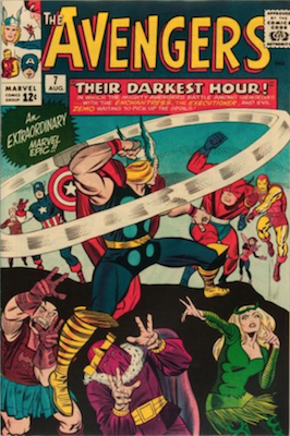 Avengers #7: early Silver Age issue. Click for value