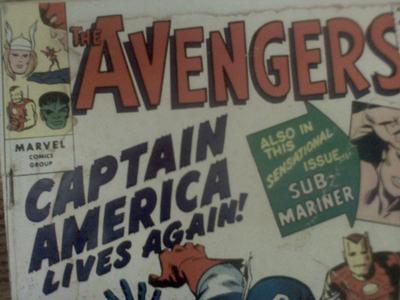 Avengers Golden Record Reprint Marvel Comics