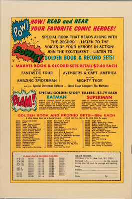 Back Covers of GRRs Feature GR Ads