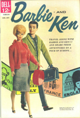 Barbie and Ken Comic #2. Click for values