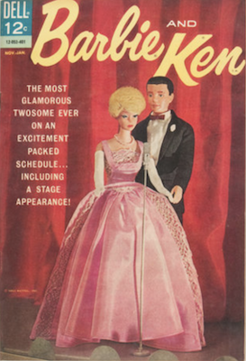Barbie and Ken #5: last in series. Click for values